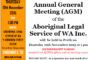 ALSWA Annual General Meeting 19th November 2015